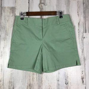 Loft shorts sea foam green size 4